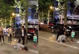 Видео с избивающим жену китайцем вызвало скандал в интернете
