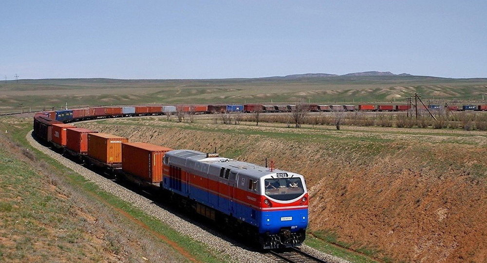 поезд из Китая в Россию