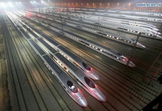 В мае будет запущен ночной высокоскоростной поезд Шанхай – Пекин