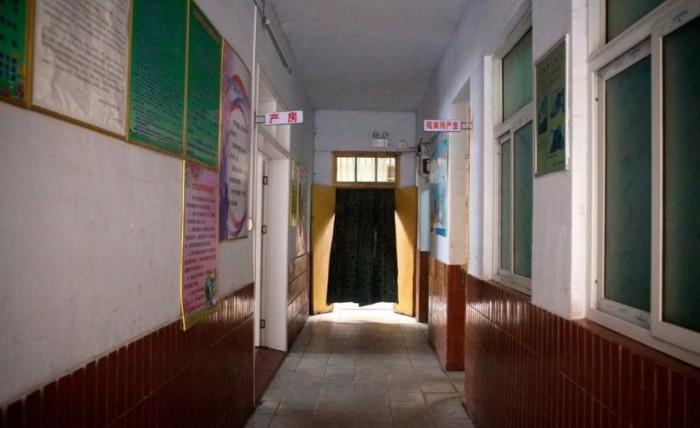 Коридор больницы, где была задушена Ли Хунся. Фото: washingtonpost.com