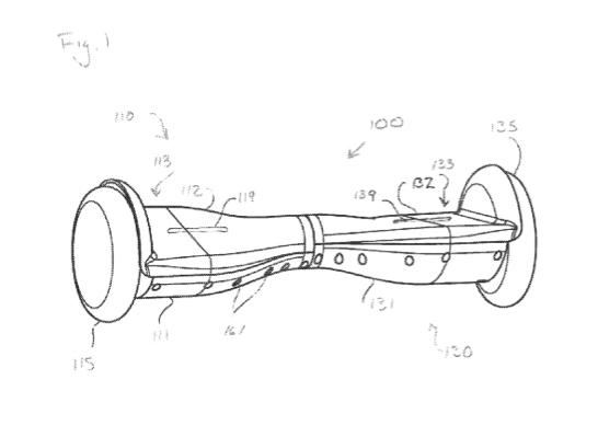 патент гироскутер