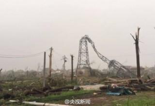 Погодные катаклизмы на востоке КНР: 78 погибших, 500 раненых, разрушен завод с химическими веществами