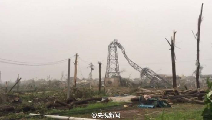 Природные катаклизмы в Яньчэне