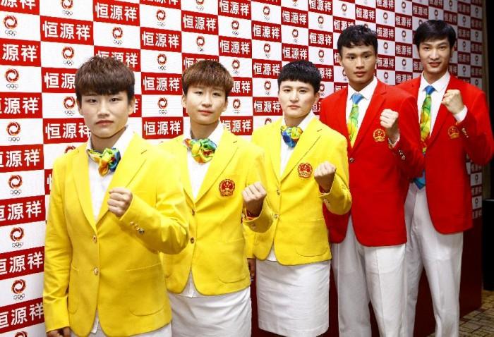 Олимпийская форма Китая 2016