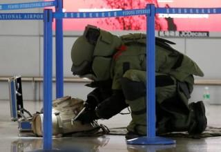 Взорвавший самодельное устройство в аэропорту Шанхая человек попытался покончить с собой