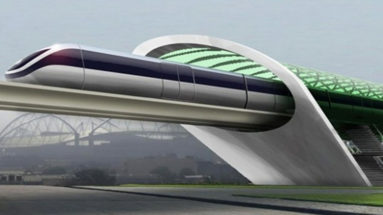 Проект вакуумного поезда Hyperloop в Приамурье
