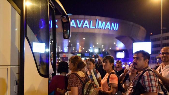 Китайцы после теракта в Стамбуле