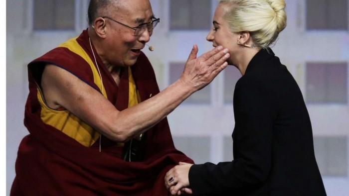 Далай-лама и Леди Гага