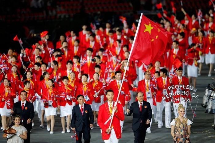 Сборная Китая в Рио.