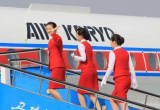 Северокорейский пассажирский самолет экстренно приземлился в КНР из-за пожара