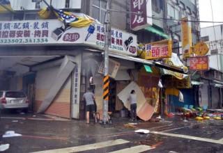 Тайфун «Непартак» принес бедствие на Тайвань и восточное побережье КНР