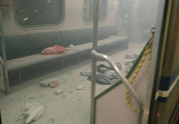 Взрыв в поезде на Тайване