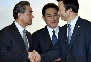 КНР, Япония и Южная Корея осудили КНДР