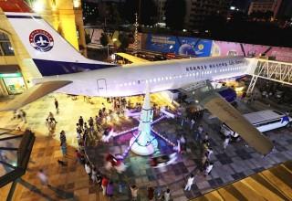 В Китае открыли первый ресторан-самолет