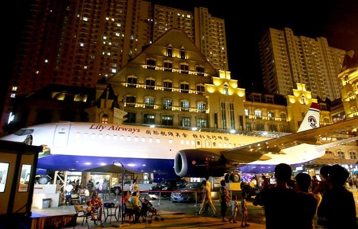 Wuhan, самолет-ресторан
