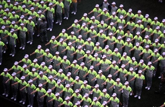 Чунцин, военная подготовка