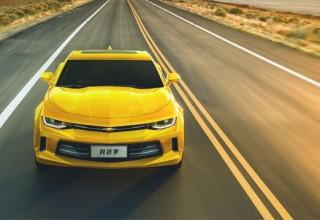 Новую Chevrolet Camaro официально представили в Шанхае