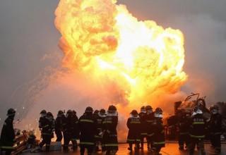Взрыв на химическом заводе в Китае унес жизни 4 человек