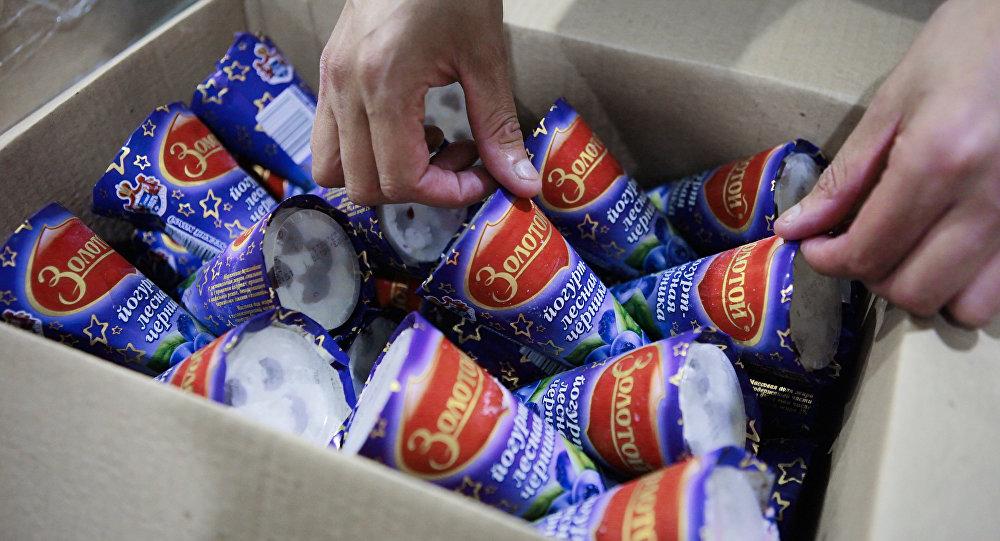 российское мороженое