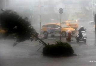 На юге Китая приготовились к мощному тайфуну «Меранти»