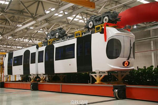 подвесной трамвай