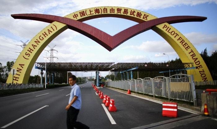 Шанхай, Зона свободной торговли