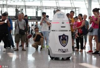 Робот будет следить за безопасностью в китайском аэропорту
