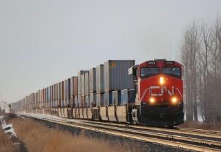 Первый контейнерный поезд запущен из Китая в Екатеринбург