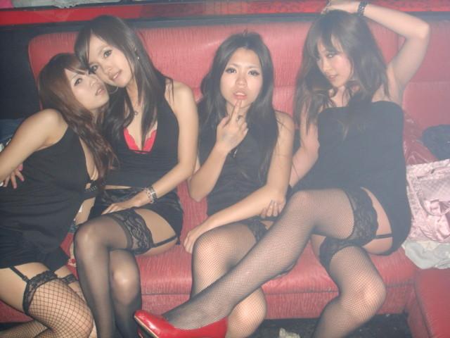 фото интим в клубах