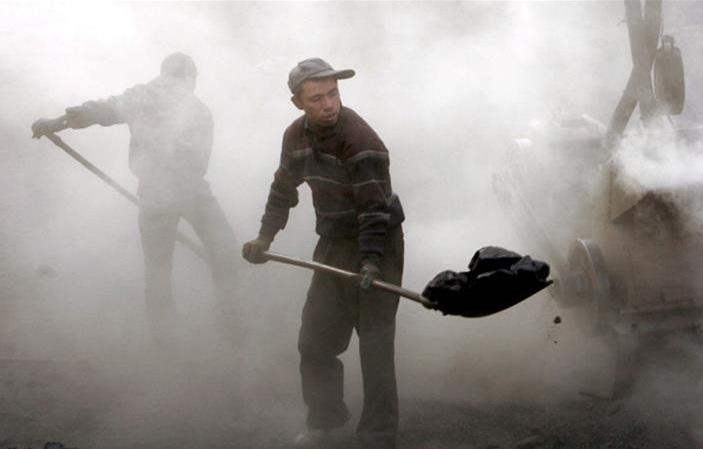 шахтеры китай