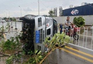 28 жителей Китая погибли в результате удара тайфуна «Меранти»