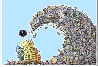 Китай сокращает импорт и наращивает собственное производство… мусора