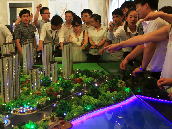 На рынке недвижимости КНР - затяжной рост