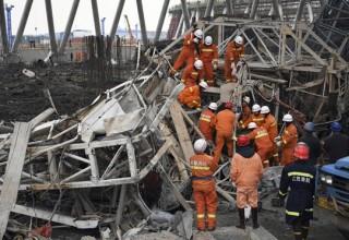 72 человека погибли при обрушении на строящейся электростанции в Китае