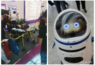 В Китае зафиксирован первый случай нападения робота на человека
