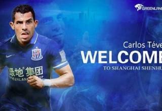 Тевес стал самым высокооплачиваемым игроком мира после перехода в китайский клуб