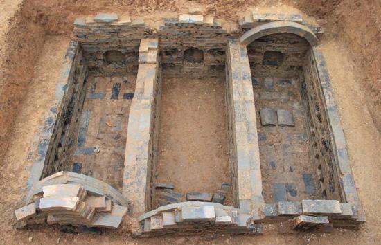 В КНР обнаружили гробницу, возраст которой 2 тысячи лет