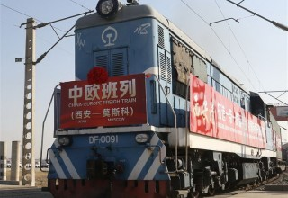 Сиань открыл прямой грузовой ж/д-маршрут до Москвы