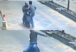 В Китае мужчина проучил вора приемом кунг-фу