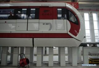 Пекинский маглев заработает в 2017-м
