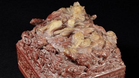 Печать китайского императора XVIII века ушла смолотка за €21 млн