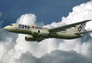 Летные испытания китайского С-919 начнутся в феврале
