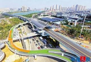 Китай строит эстакады… для велосипедов