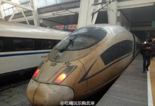 Что будет со скоростным поездом Пекин-Шанхай, если пропустить его через смог?