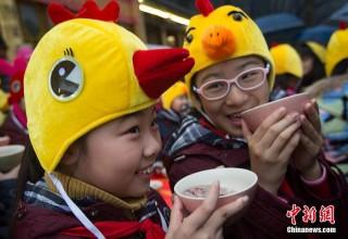 Китайский праздник Лаба: храмы и каша