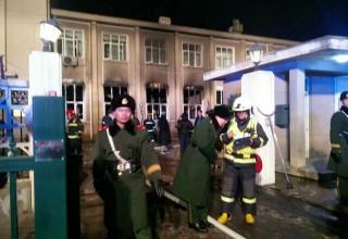 В Пекине сгорело посольство Габона