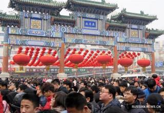 Китайцы потратили $122,5 млрд на новогодние подарки и банкеты