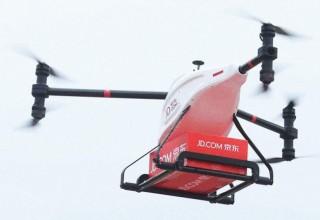 Китайский интернет-гигант JD.com расширит сеть доставки посылок дронами