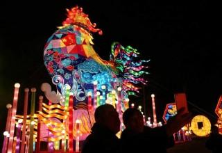 Китай встречает праздник фонарей