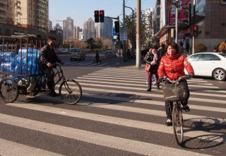 В Китае нарушителей ПДД наказывают правописанием